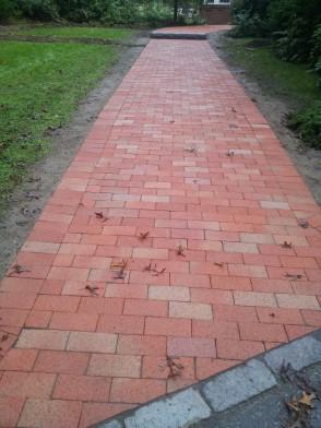 Holliston- Brick walkway