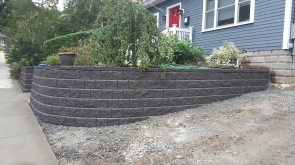 Winchester-Retaining wall