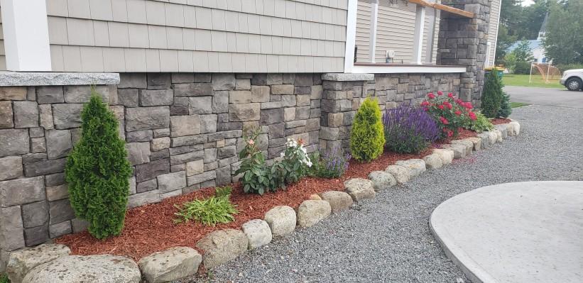 Kingston- stone veneer